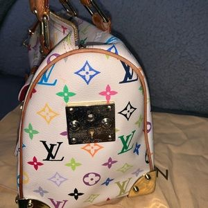 Louis Vuitton Bags - Louis Vuitton Monogram multicolor speedy 30 Bag